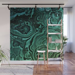 MALACHITE GREEN Wall Mural