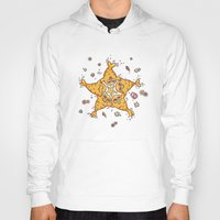 starfish Hoodies featuring StarFish by Lili Batista