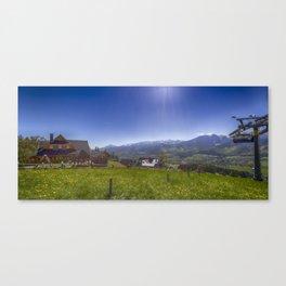 Tatra Mountains. Canvas Print