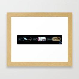 Horizons - Pick Your Journey Framed Art Print
