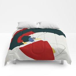 Dos Líneas de Miró Comforters