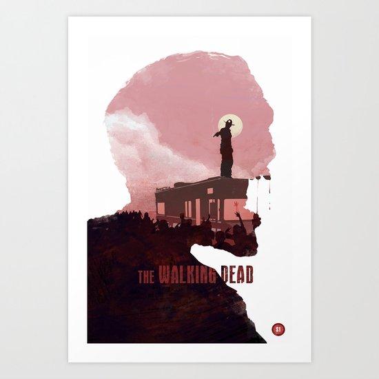 The Walking Dead - Season 1 Art Print