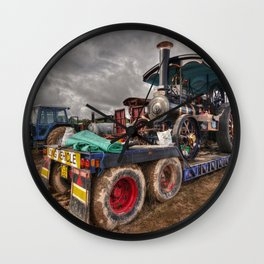 The Burrell Loader Wall Clock