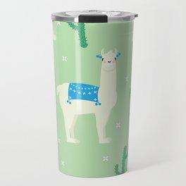 Llamas and llamas Travel Mug
