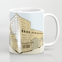 pittsburgh Mugs featuring Pittsburgh Baseball by K. Sekelsky