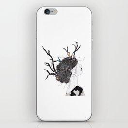 Reindeer in space  iPhone Skin