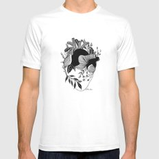 Long Term Love White Mens Fitted Tee SMALL
