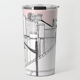 Architecture Mixes in Brussels Travel Mug