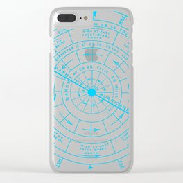 Stormy North Clear iPhone Case