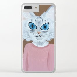 Baby the Cat Clear iPhone Case