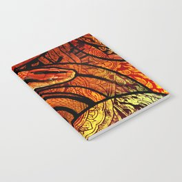 Thai Red Mountain Racer Notebook