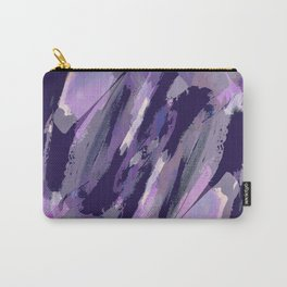 Thunder Plum Abstract Carry-All Pouch