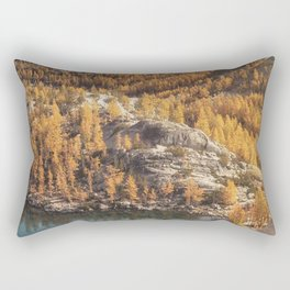 Autumn By The Lakes Rectangular Pillow