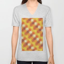 Sunset Pixels Unisex V-Neck