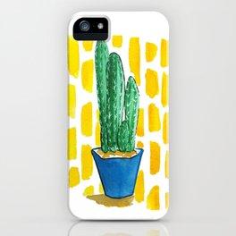 Fairytale Castle Cactus iPhone Case
