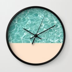 Pool Wall Clock