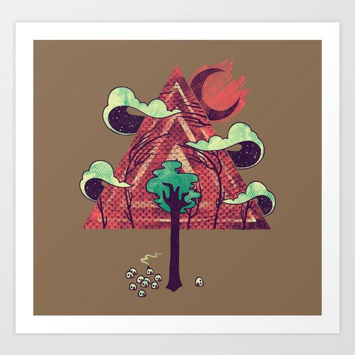 The Evergreen Art Print