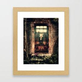 DOOR TO NOWHERE Framed Art Print