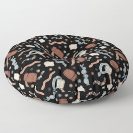 Central Dogma - DNA to mRNA to Protein! Floor Pillow