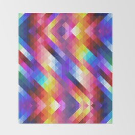HIPSTER GEOMETRY Throw Blanket