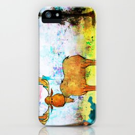 Blue Moose on the Loose ~Ginkelmier iPhone Case