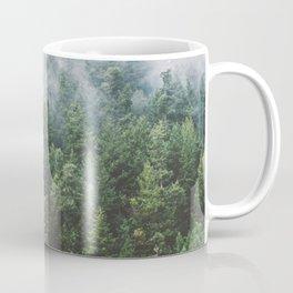 Foggy Vancouver Island Coffee Mug