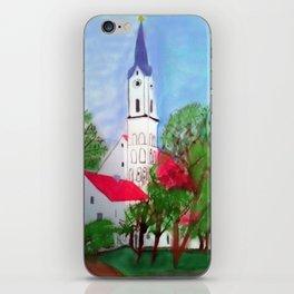 Kirche von Ergolding iPhone Skin