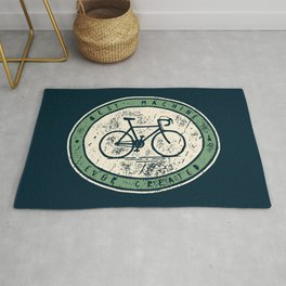 Bicycle - Best Machine Ever Created Rug