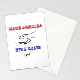 Make America Kind Again (Red/Black/Blue) Stationery Cards