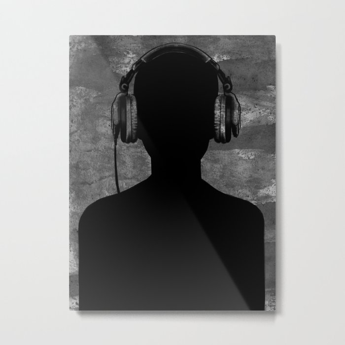 music lover Metal Print