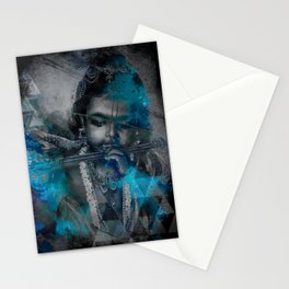 Krishna The mischievous one - The Hindu God Stationery Cards
