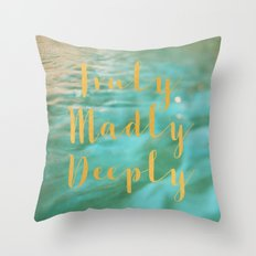 Truly Throw Pillow
