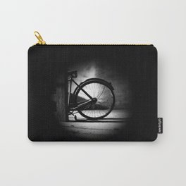 Old bicycle in a dusty attic Carry-All Pouch