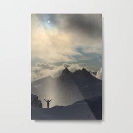 Alpine Praise #2 Metal Print