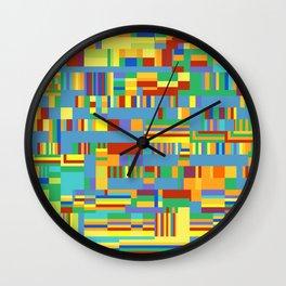 Chromatetude (Candy Colours) Wall Clock