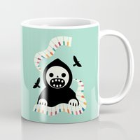 destiny Mugs featuring Destiny Movement by Andy Westface