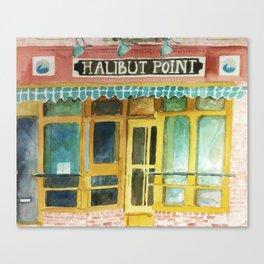 Halibut Point Restaurant Canvas Print