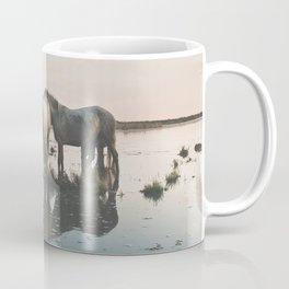 Camargue Horse II Coffee Mug