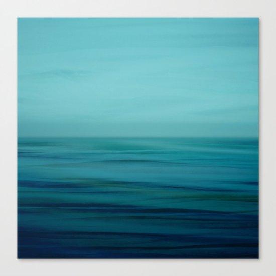 Greenish Blues Canvas Print