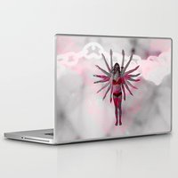 goddess Laptop & iPad Skins featuring Goddess by Marie Pascale L
