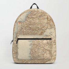 Vintage Map of Lebanon (1862) Backpack