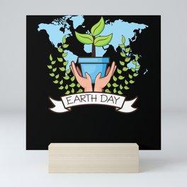 Earth Day April 22 Mini Art Print
