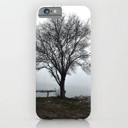 Foggy Tree iPhone Case