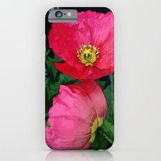Poppies Three Slim Case iPhone 6s
