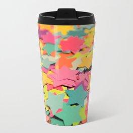 Star Confetti Travel Mug