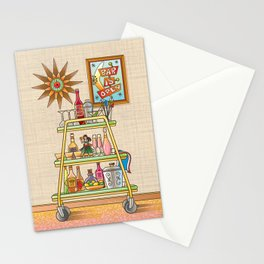 Bar Is Open Stationery Cards