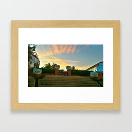 Alexandria III Eyes On You Framed Art Print