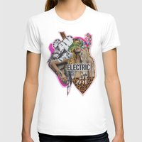 sia T-shirts featuring ELECTRIC FANTA-SIA  by Vasare Nar