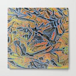 Bird in Tree #1c Metal Print