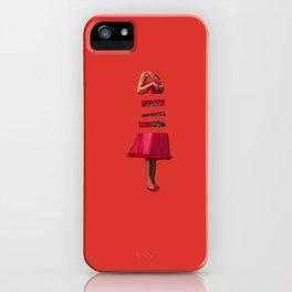 Floral Insides iPhone Case